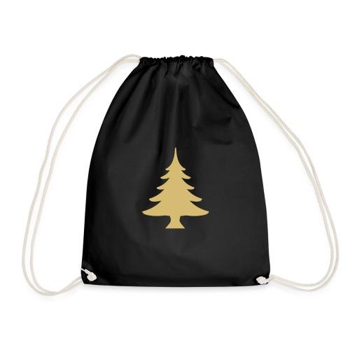Weihnachtsbaum Christmas Tree Gold - Turnbeutel