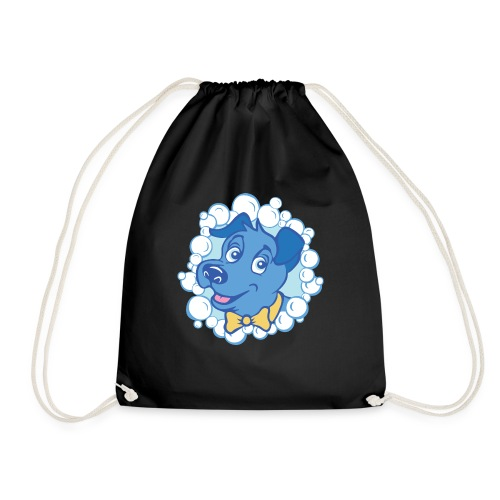 bubblyBarksLogo - Drawstring Bag