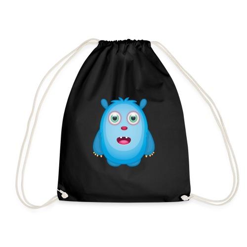 Emily - Blaues Beschützer Monster - Turnbeutel