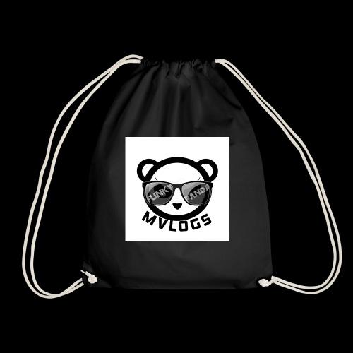MVLOGS FUNKY PANDA - Drawstring Bag