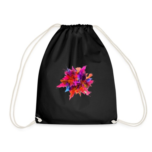 The JAB Splash Black - Drawstring Bag