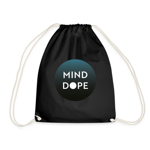 Logo minddope.pictures - keine Kontur - Turnbeutel