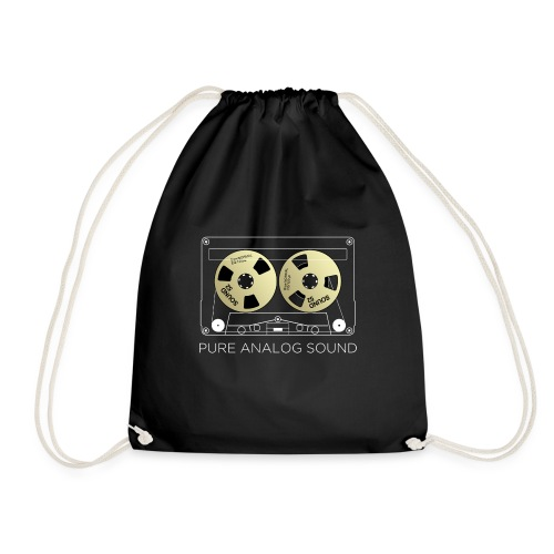 Reel golden cassette - Drawstring Bag
