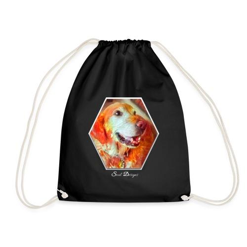 dog6 - Drawstring Bag