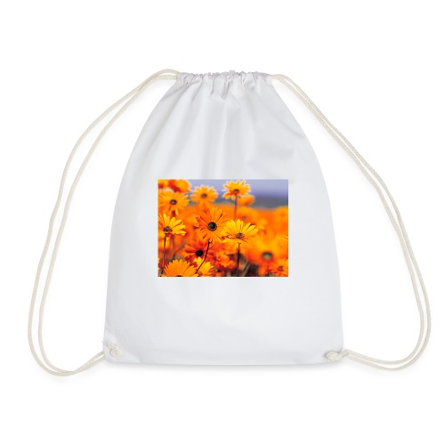 Flower Power - Drawstring Bag