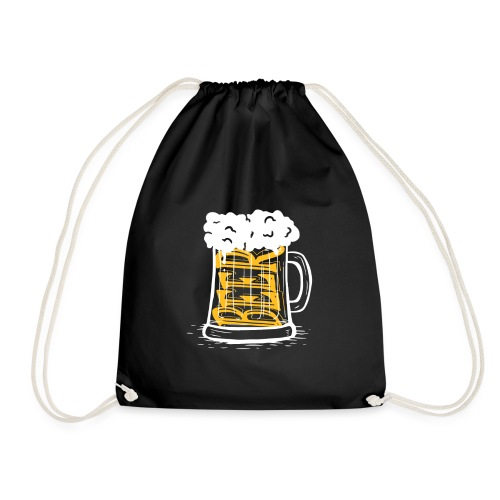 Bier Krug - Turnbeutel