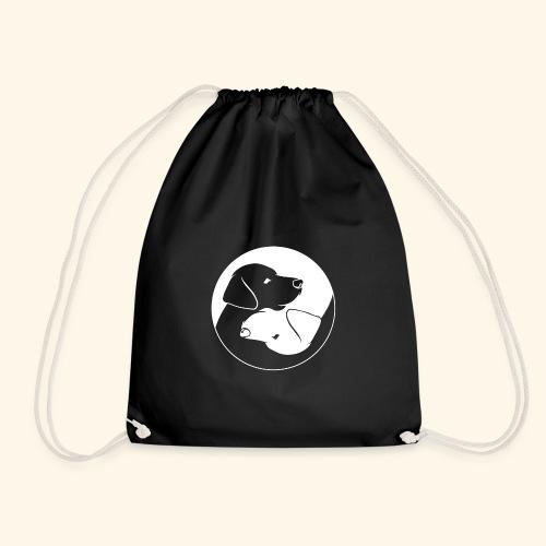 Yin Yang Labrador - Labbi - Geschenkidee - Turnbeutel