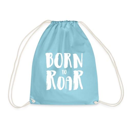 born to roar white - Turnbeutel