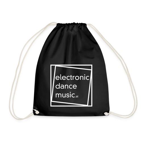 electronicdancemusic.at weiß - Turnbeutel