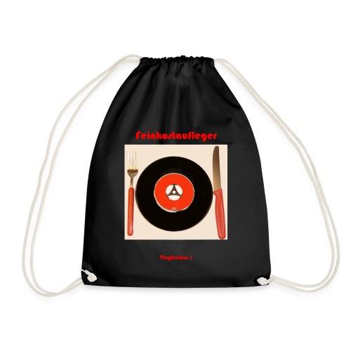Feinkostaufleger Vinylicious - Turnbeutel