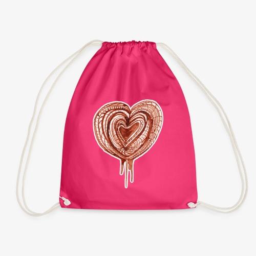 muscular pump transp - Drawstring Bag