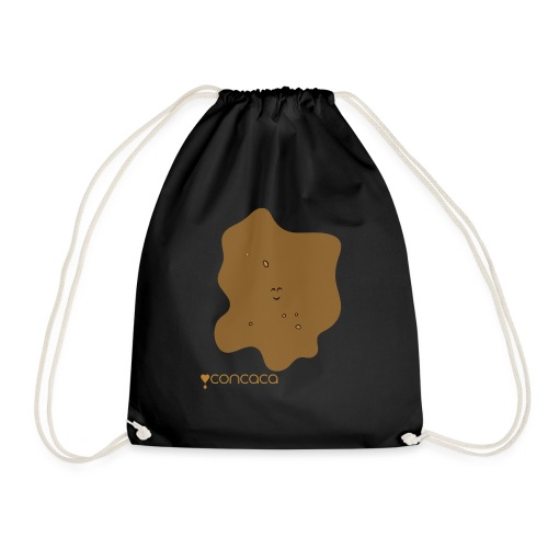 Baby bodysuit with Baby Poo - Drawstring Bag