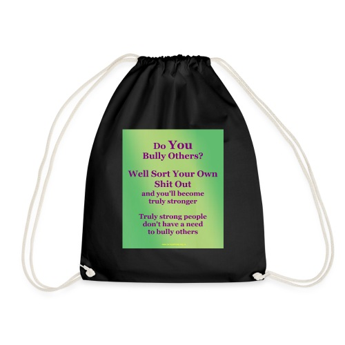 truly-strong_t-pnk - Drawstring Bag
