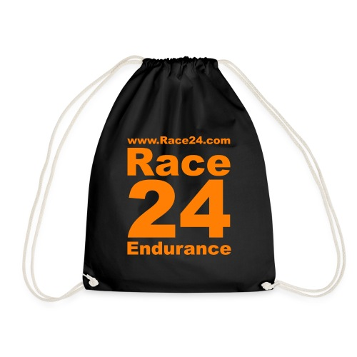Race24 Logo in Orange - Drawstring Bag