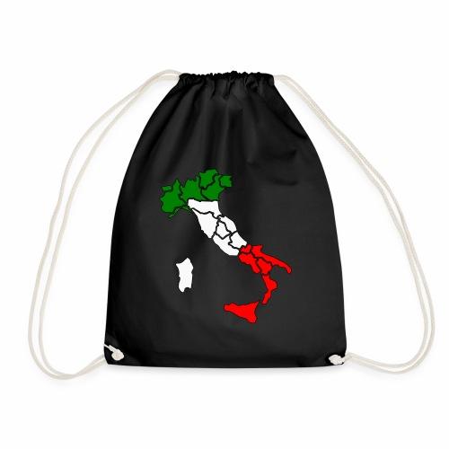 Karte von Italien - Turnbeutel