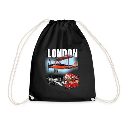 London by day and night! - Drawstring Bag