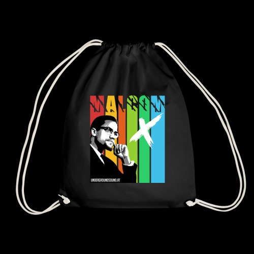 MALCOM X colourful - Turnbeutel