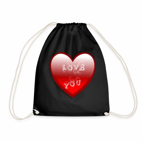 Love You - Turnbeutel