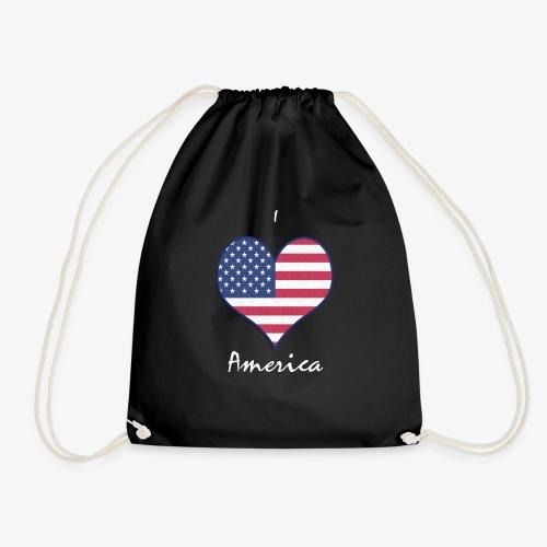 I Love America - Turnbeutel