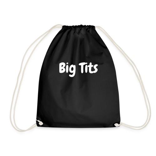 Big Tits (weiß) - Turnbeutel