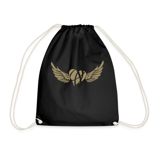 Broken flying heart ღ - Drawstring Bag