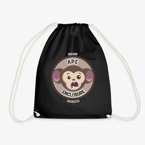 Ape Enclosure Logo - Drawstring Bag