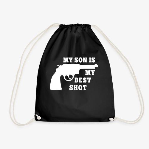 Redneck Dad Gift Idea: My Son Is My Best Shot - Turnbeutel