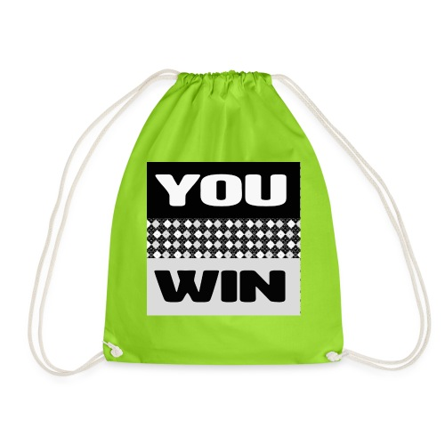 you win 7 - Drawstring Bag