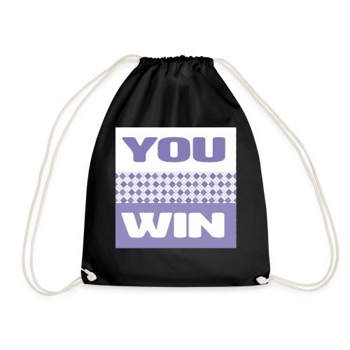 you win 29 - Drawstring Bag