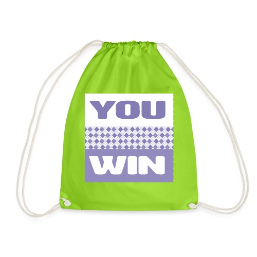 you win 29 - Drawstring Bag