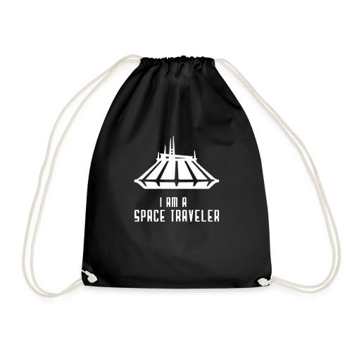 I Am A Space Traveler - Drawstring Bag