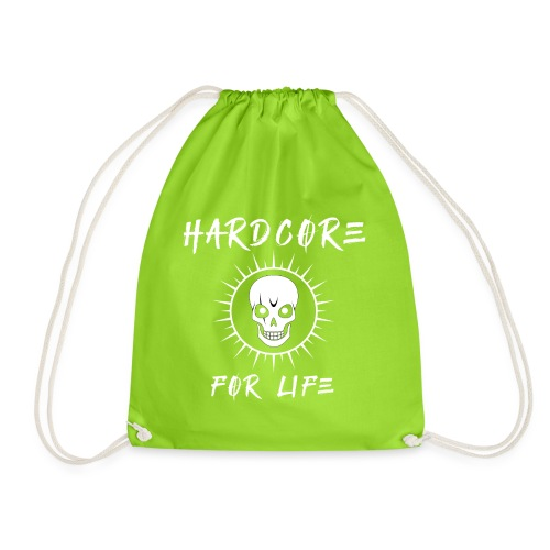 H4rdcore For Life - Drawstring Bag
