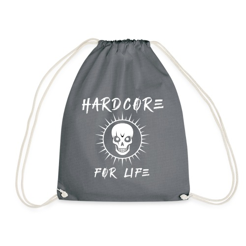 H4rdcore For Life - Drawstring Bag