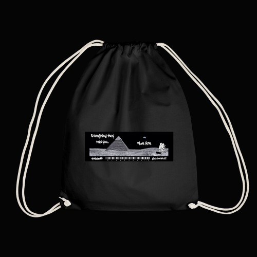 Everything Is Lies!! Truth T-Shirts!! #WokeAF - Drawstring Bag