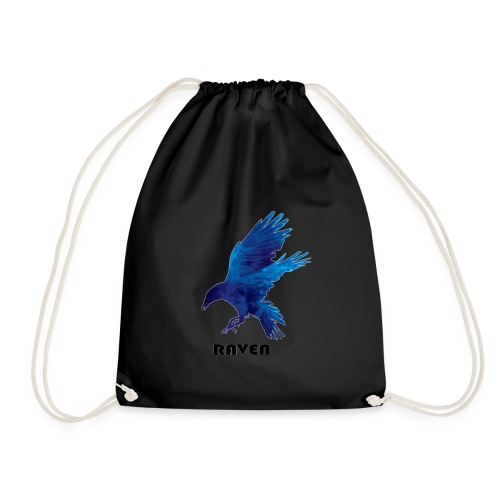 Raven Awesome - Drawstring Bag
