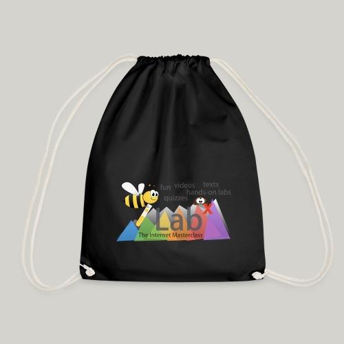 iLabX - The Internet Masterclass - Drawstring Bag