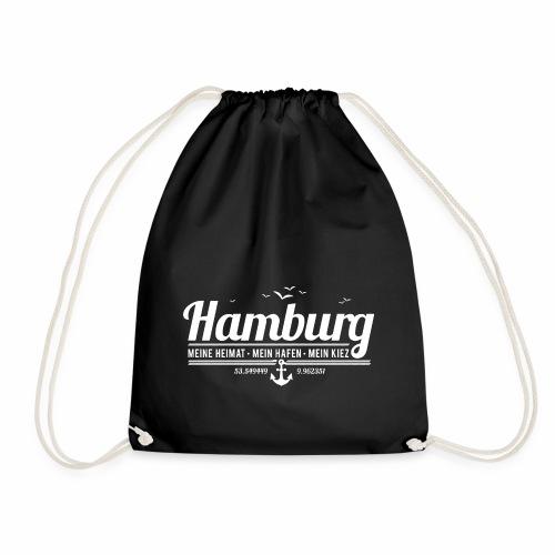 Hamburg - meine Heimat, mein Hafen, mein Kiez - Turnbeutel