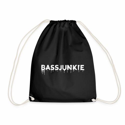 Bassjunkie Bass Liebe Electronic Music Dark Musik - Turnbeutel