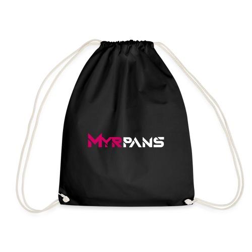 Myrpans Pink/White - Gymnastikpåse