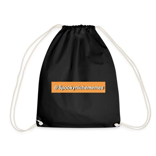 Orange Spookynichememes - Drawstring Bag