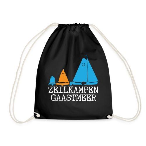 ZKG Wit Merchandise - Gymtas