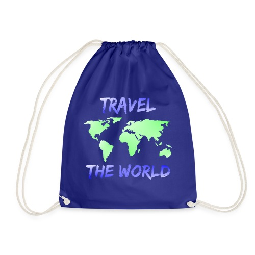 TRAVEL THE WORLD - Turnbeutel