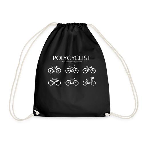 Polycyclist Radsport Fan Mountainbike Geschenk - Turnbeutel