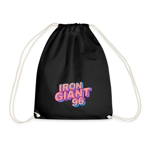 IRONGIANT96 word blank - Drawstring Bag