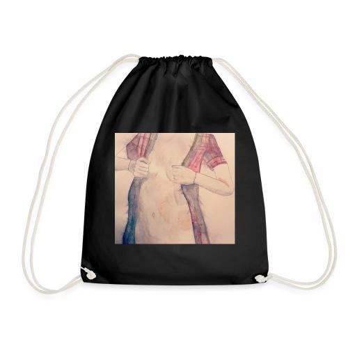 HOT coat - Drawstring Bag