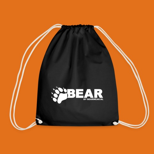 bear by bearwear sml - Drawstring Bag