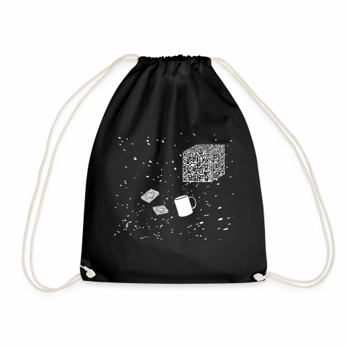Borg tea and biscuits - Drawstring Bag