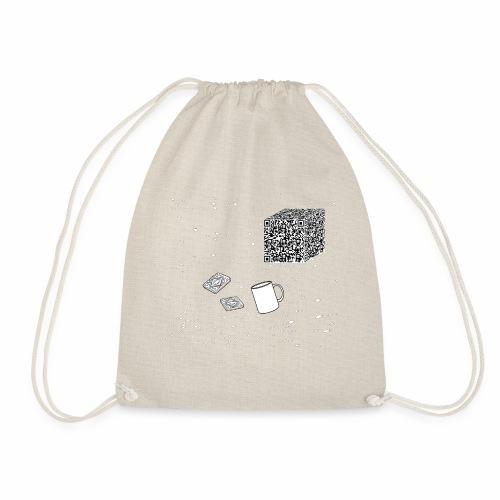 Borg tea and biscuits - Drawstring Bag