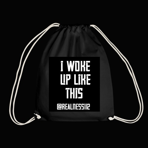 I Woke Up Like This!! Truth T-Shirts!! #WakeUp - Drawstring Bag