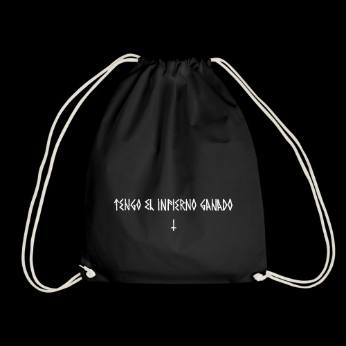 AjusxtTRANSPAinfiernoganadoBlackSeriesslHotDesign - Drawstring Bag